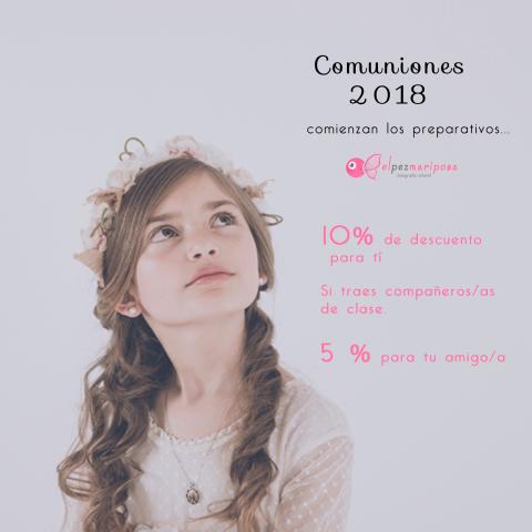 Promoción comuniones 2018