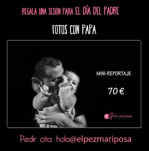 Regala una sesión de fotos para el Día del Padre