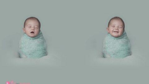 Durmiendo y..sonriendo, gracias bebés..