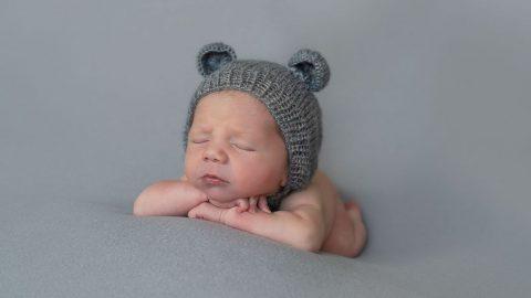 Newborn pequeña Ane