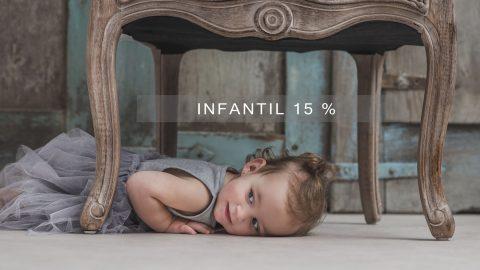 OFERTA, -15% fotografía INFANTIL  #YoMeQuedoEnCasa
