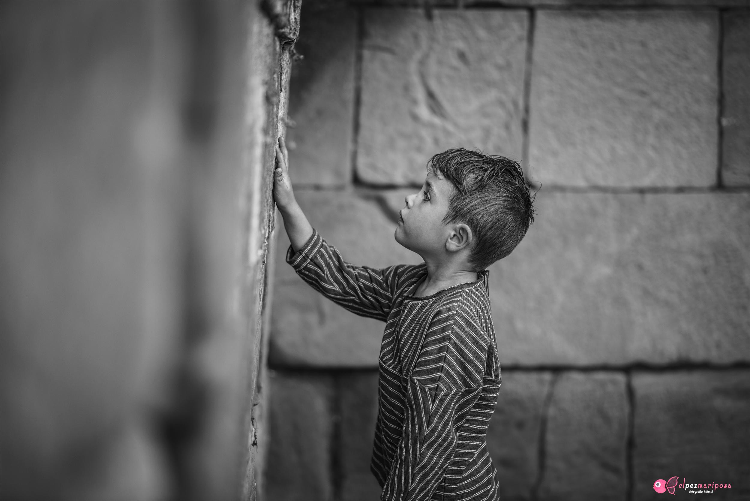 fotografia de niños en exterior