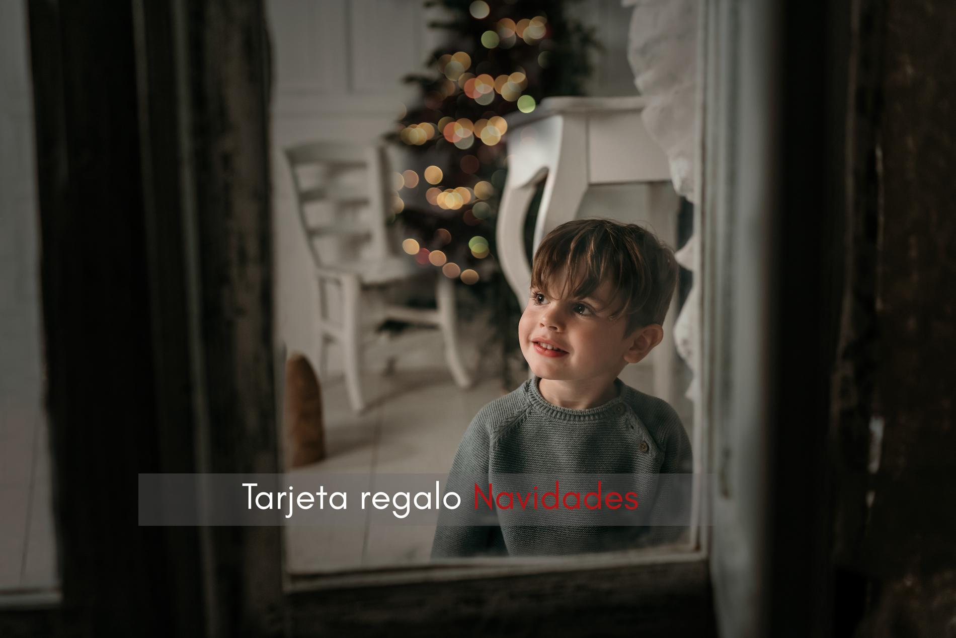 tarjeta regalo navidades