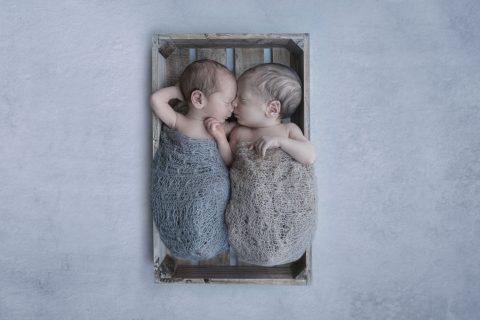 Reportaje Newborn/recién nacido de mellizos