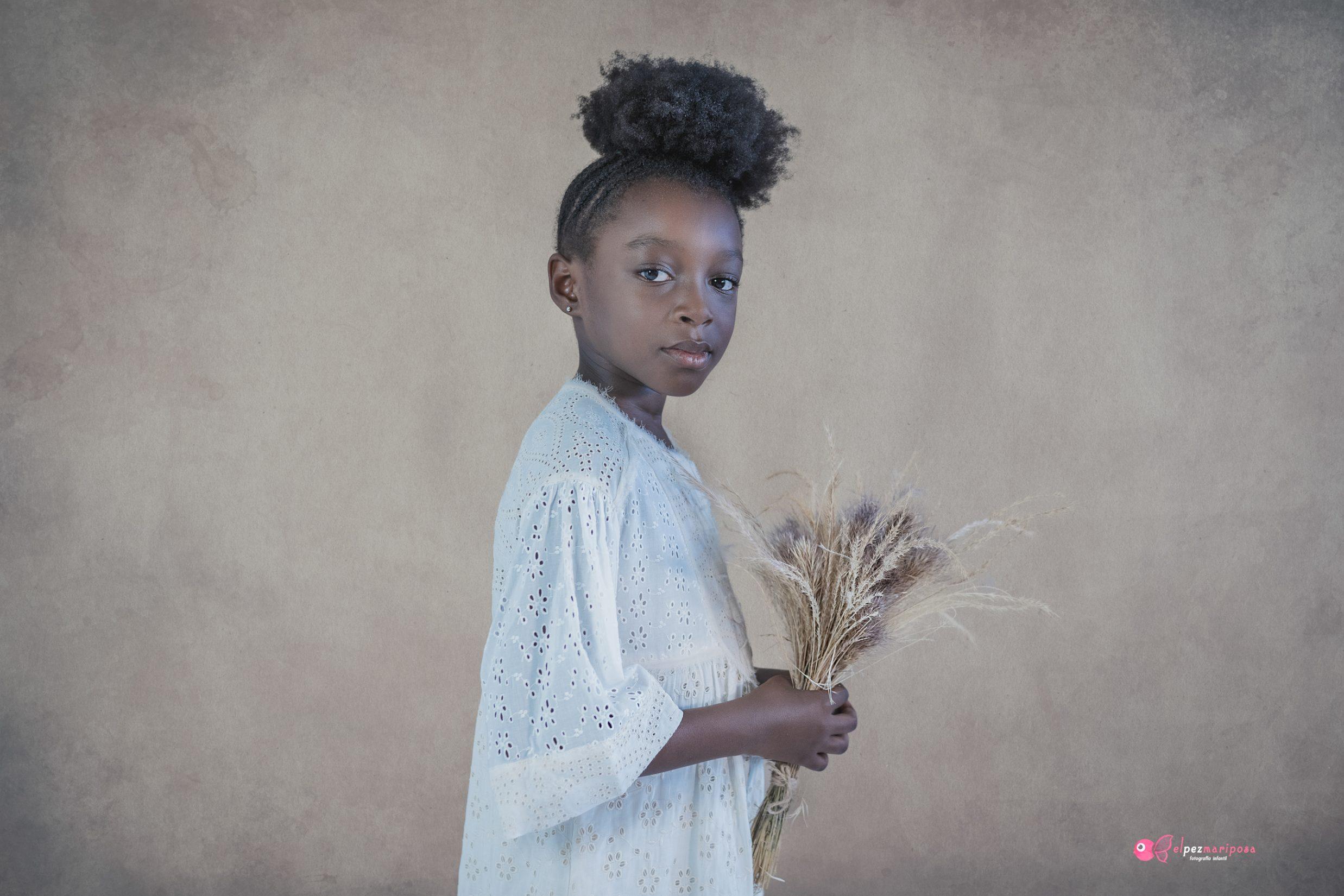 Fotografía de retrato infantil