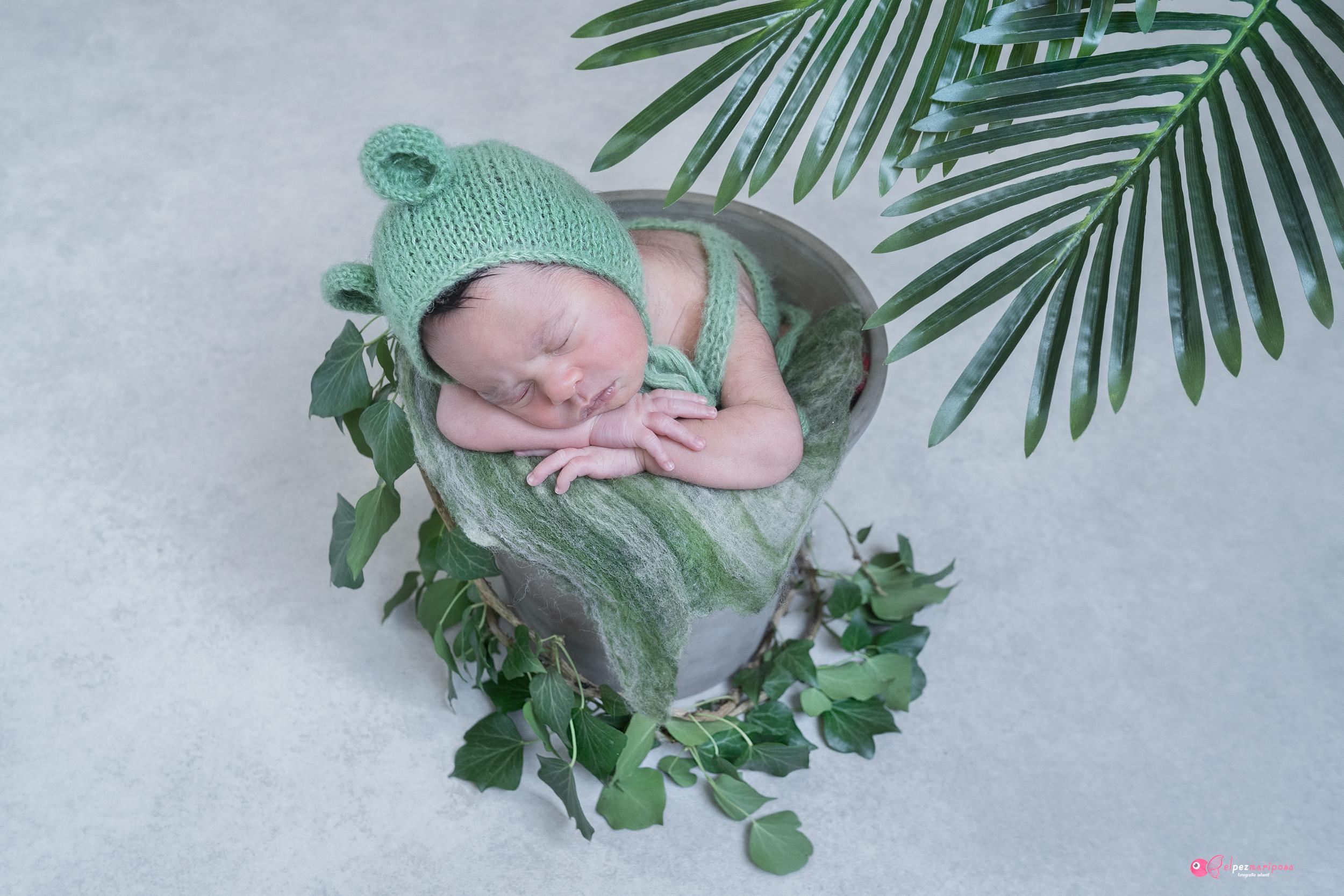fotógrafo bebe pamplona