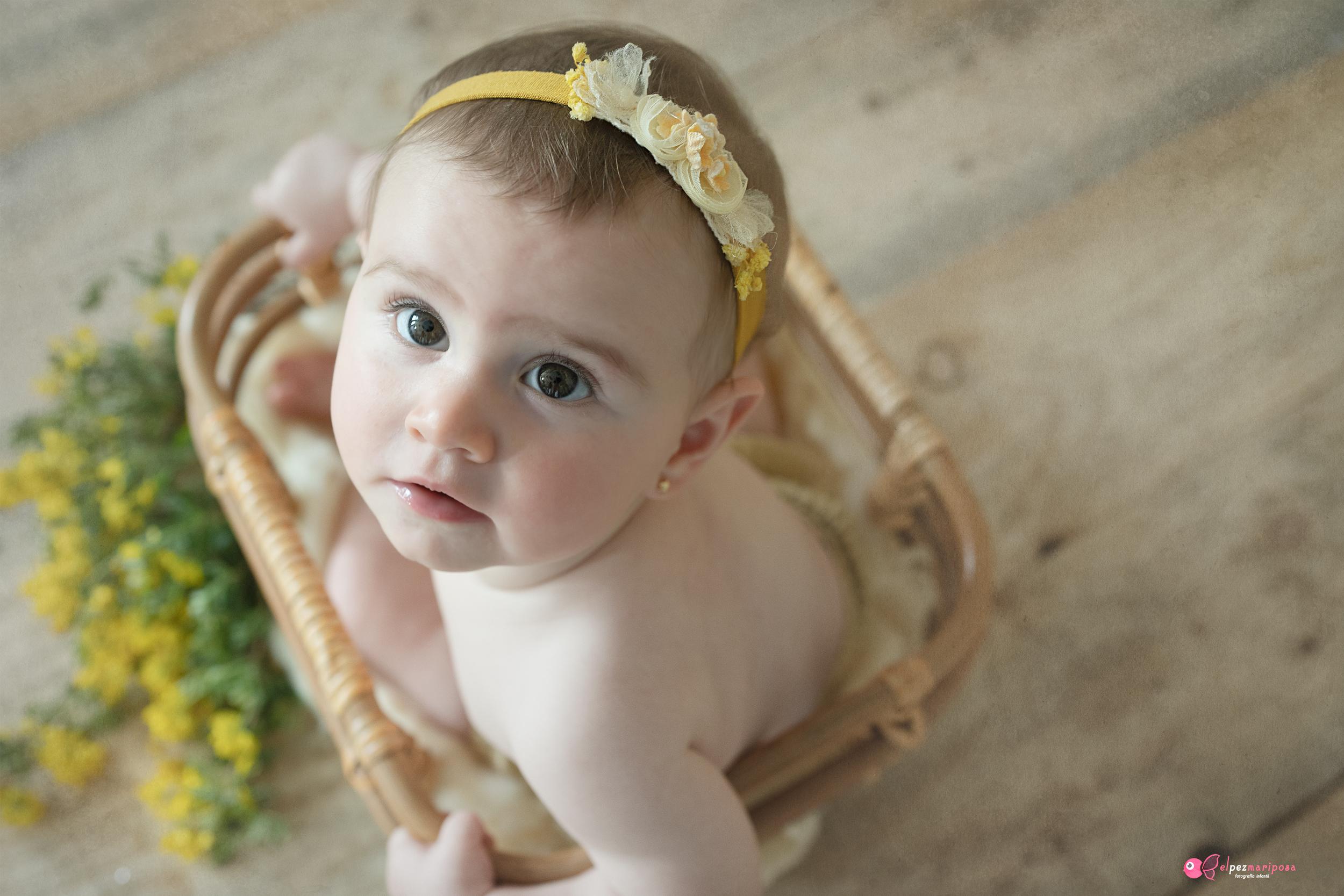 Fotógrafo bebés Pamplona