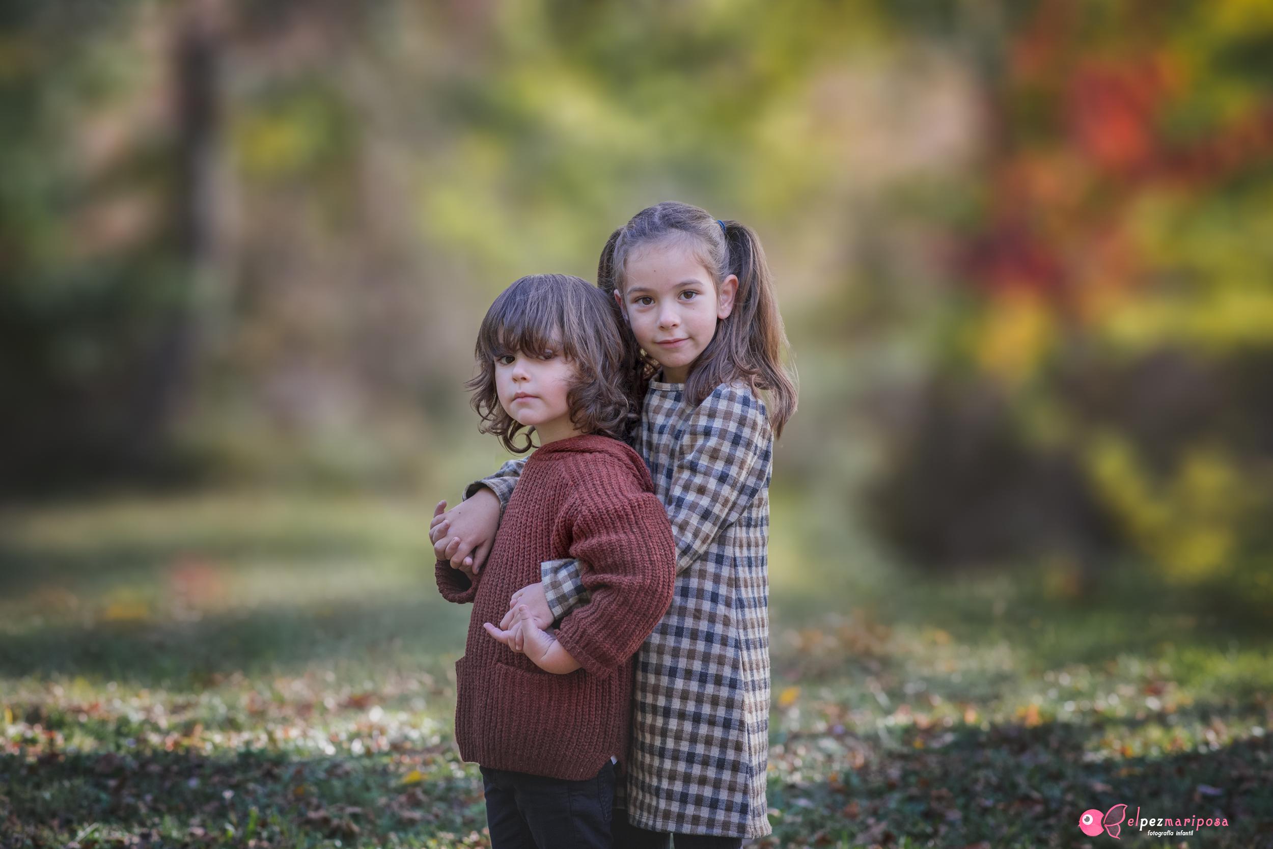 fotografia de niños exterior