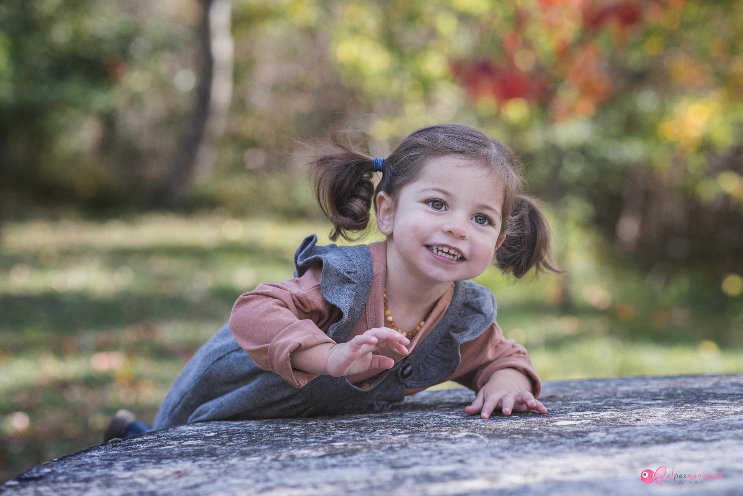 fotografia de niños